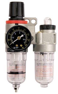 """Verzorgingsset 1/4"""" (filter regulator & smeerpot) (1500)"""