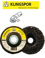 Reinigingsschijf / power disc 115 mm