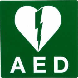 Sticker AED