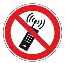 Sticker telefoneren verboden